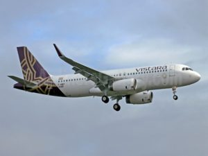 Vistara Airlines Flights Routes and Schedule Information