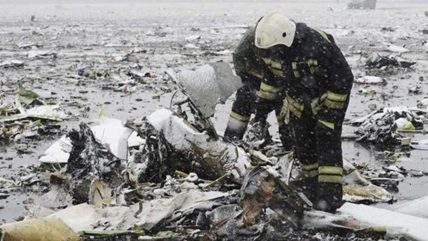 FlyDubai plane crashed amid high winds, killing all 62 aboard